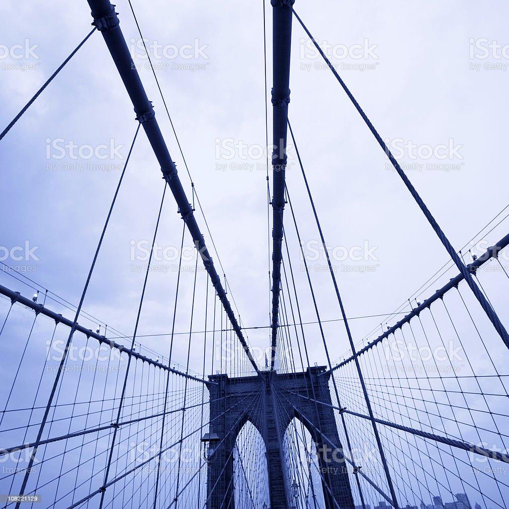 Brooklyn Bridge - NYC royalty-free stock photo