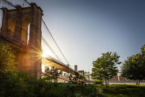 Brooklyn Bridge Park stock photo