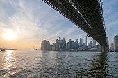Brooklyn Bridge von Dumbo
