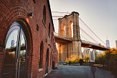 Brooklyn Bridge taken from Brooklyn Bridge Park.