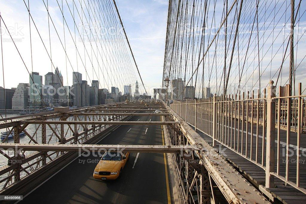Ponte di brooklyn foto stock royalty-free