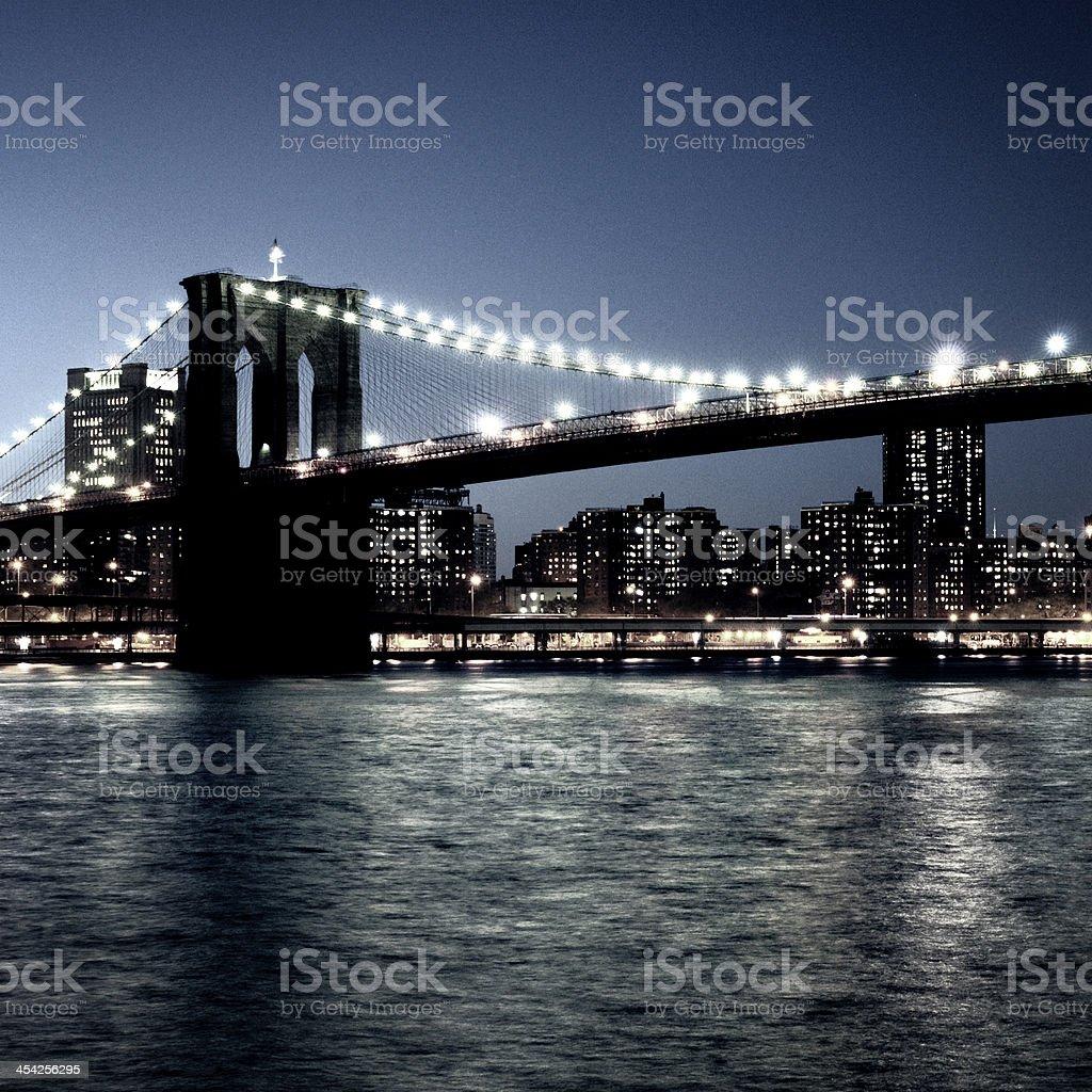 Brooklyn Bridge,NYC royalty-free stock photo