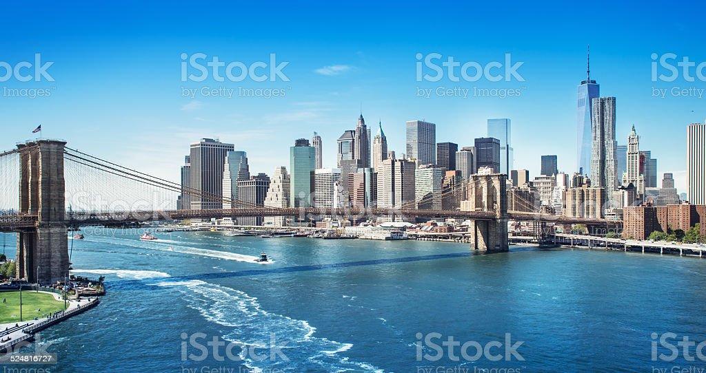 brooklyn brigde stock photo