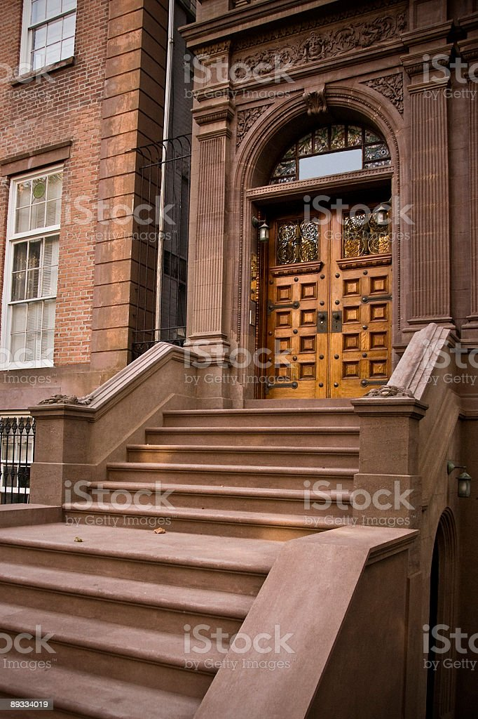Brooklyn Brownstone royalty-free stock photo