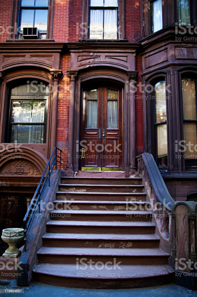 Brooklyn heights stock photo