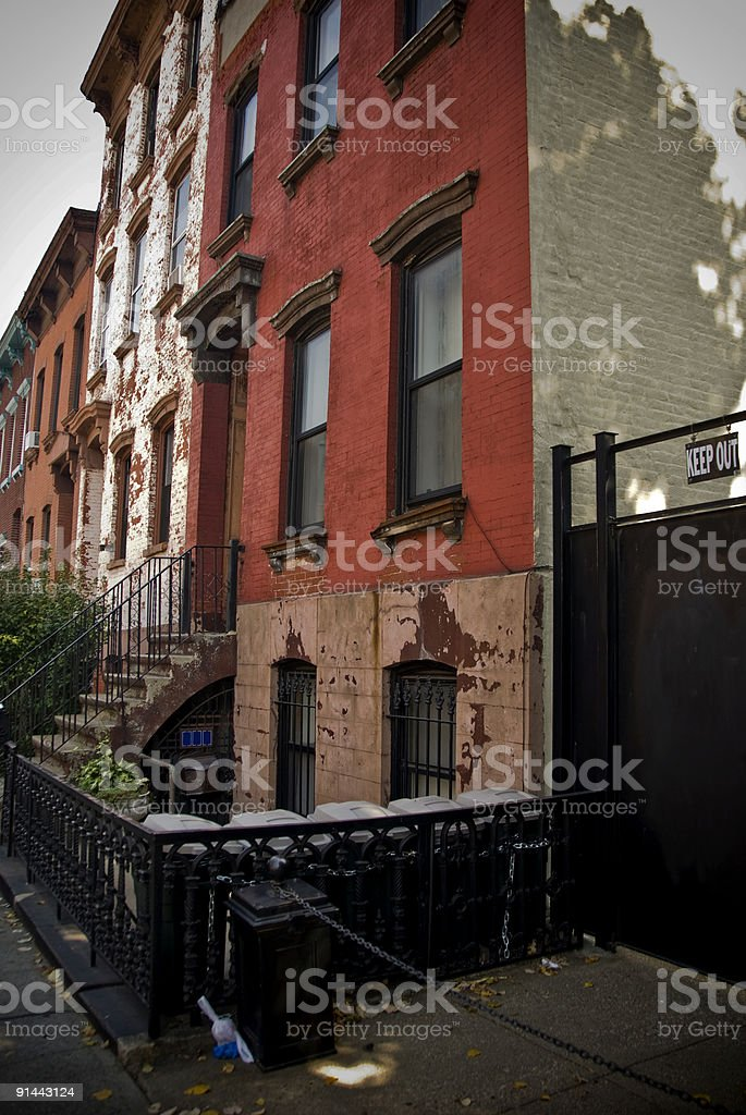 Brooklyn Homes royalty-free stock photo