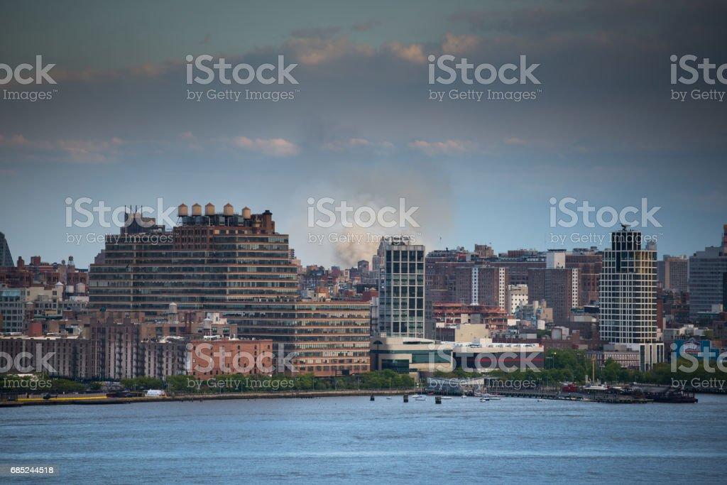 Brooklyn skyline foto de stock royalty-free