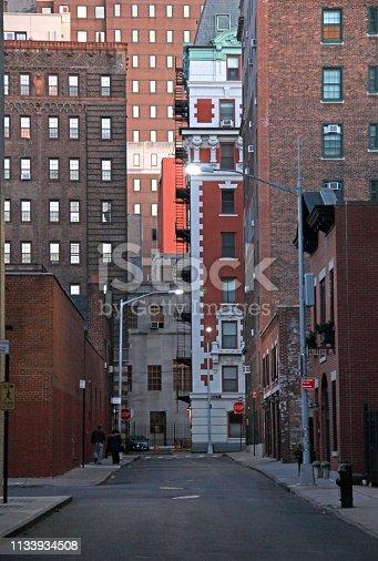 istock Brooklyn Street and Buildings 1133934508