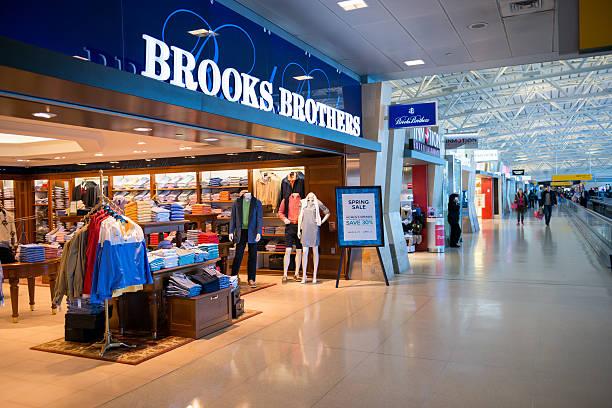 Brooks Brothers JFK stock photo