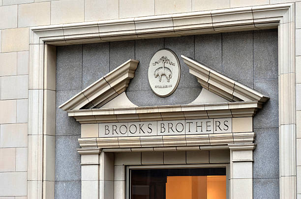 Brooks Brothers stock photo