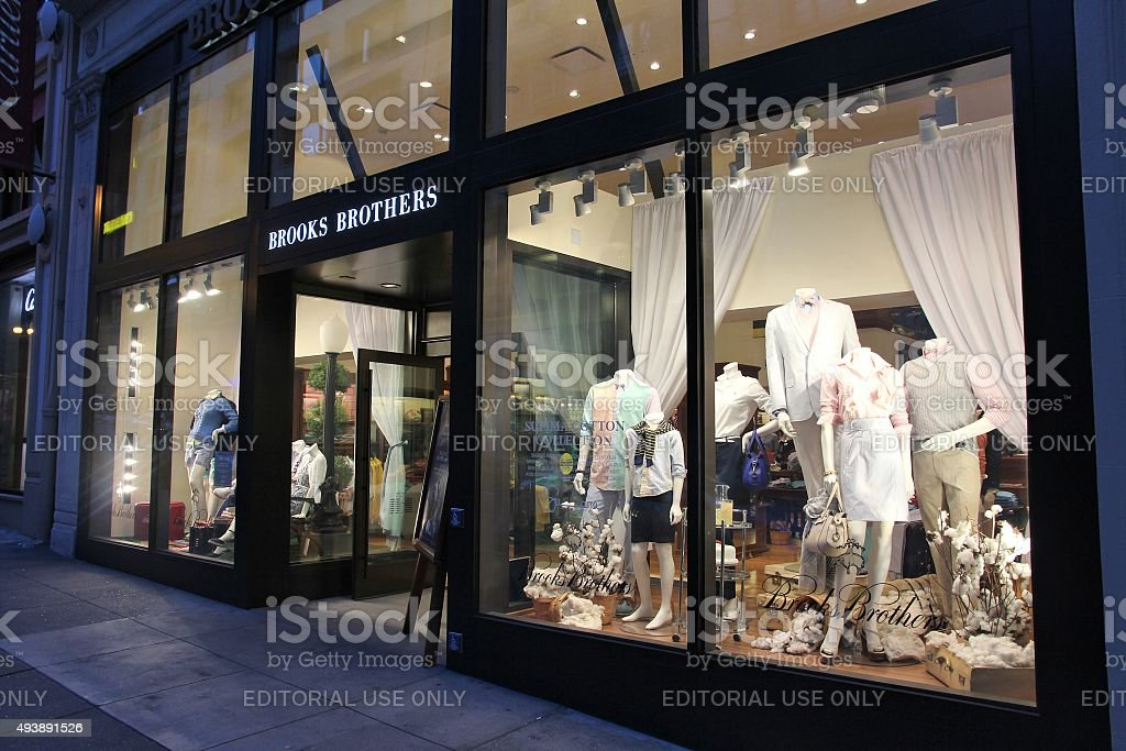 Brooks Brothers stock photo