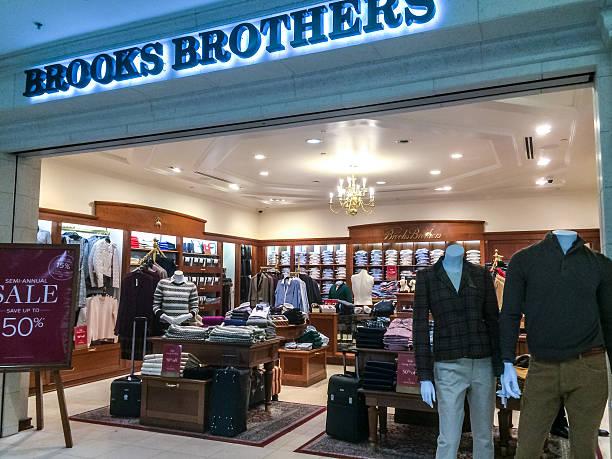 Brooks Brothers Store at Atlanta Airport, USA stock photo