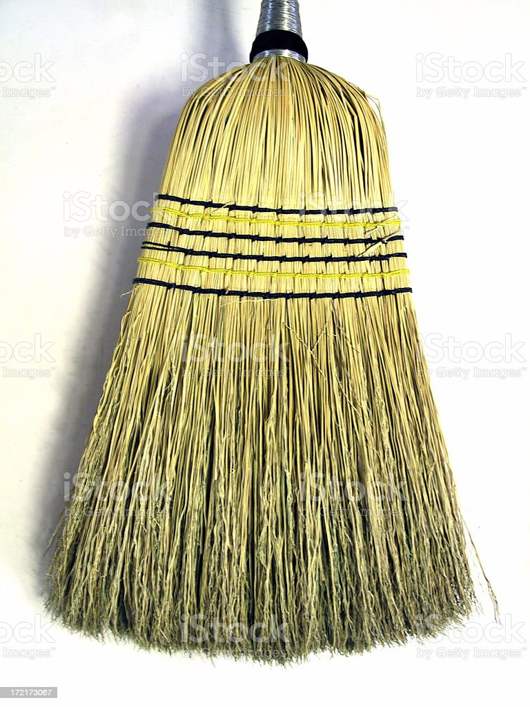 Broom Bristles royalty-free stock photo