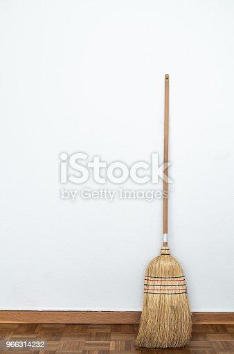 istock Broom in the room 966314232