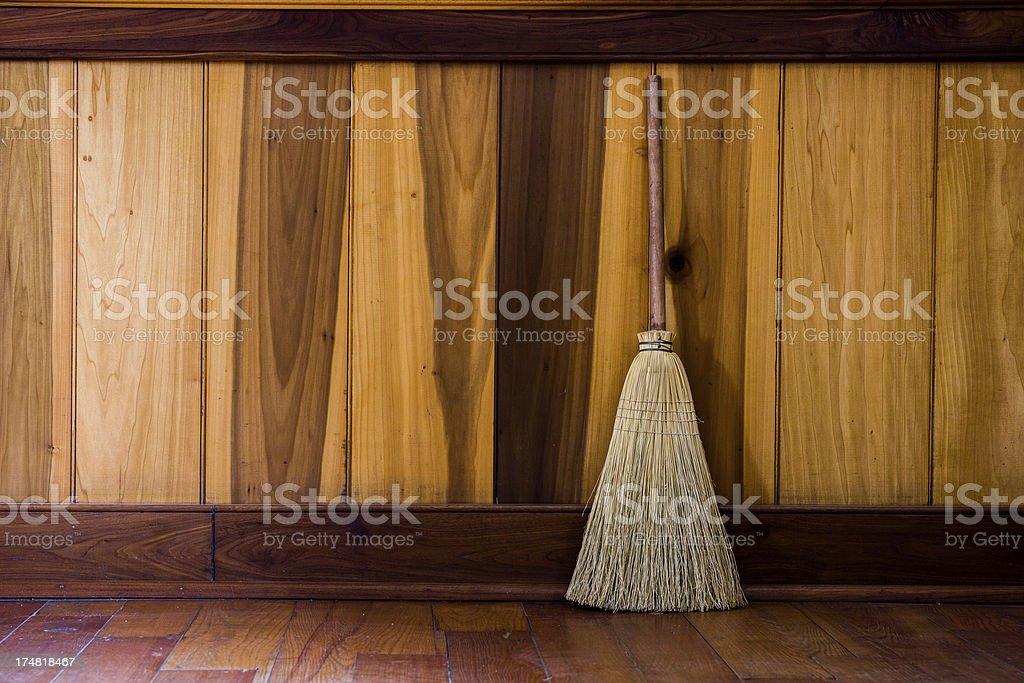 Broom royalty-free stock photo
