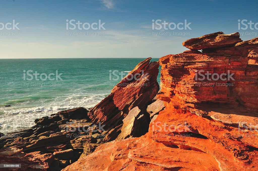 Broome Coast stock photo