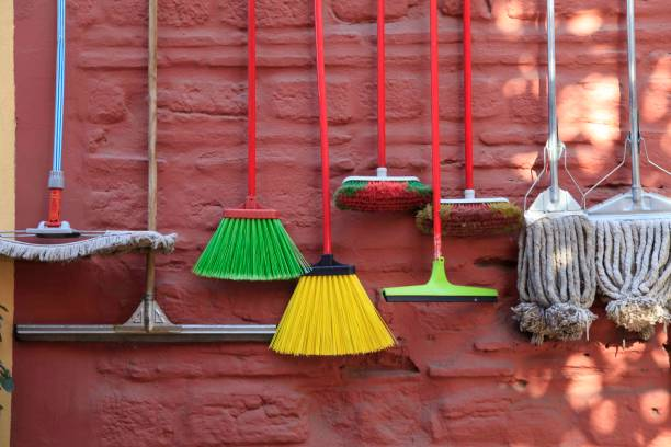 Brooms Brooms market broom stock pictures, royalty-free photos & images