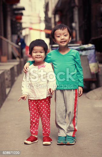 brother and sister in the hutong