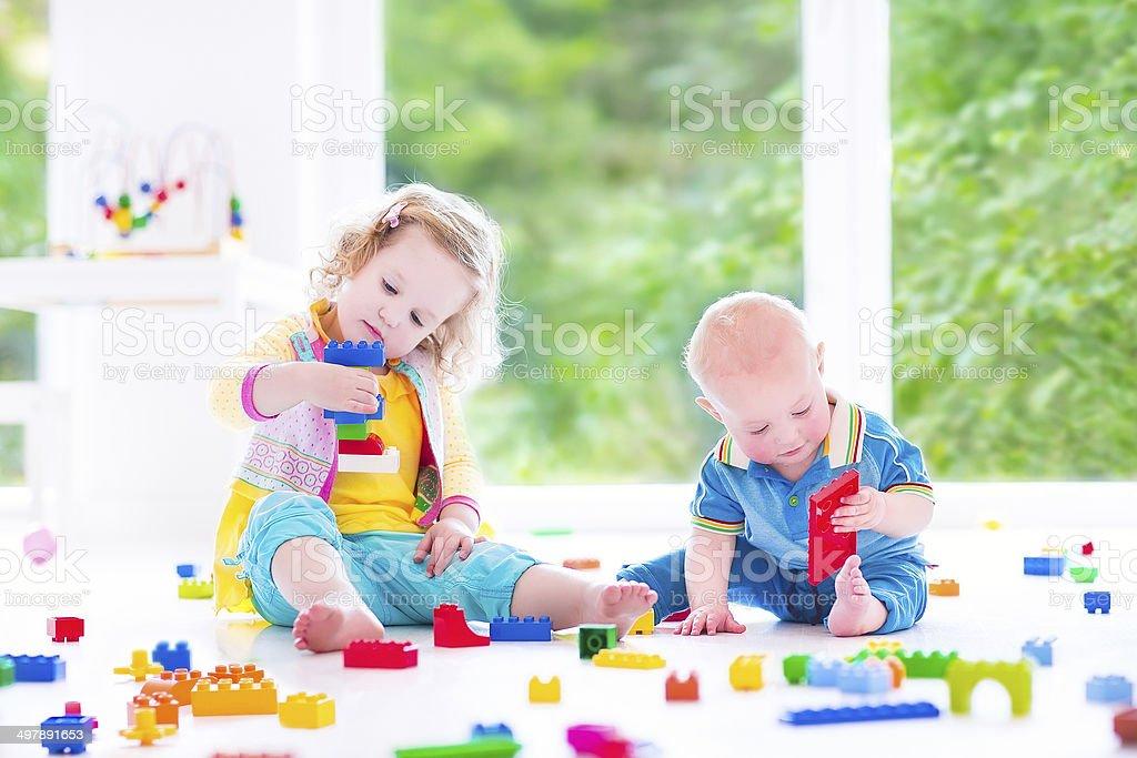 Spielen Spiel Bruder und Schwester Bruder Und