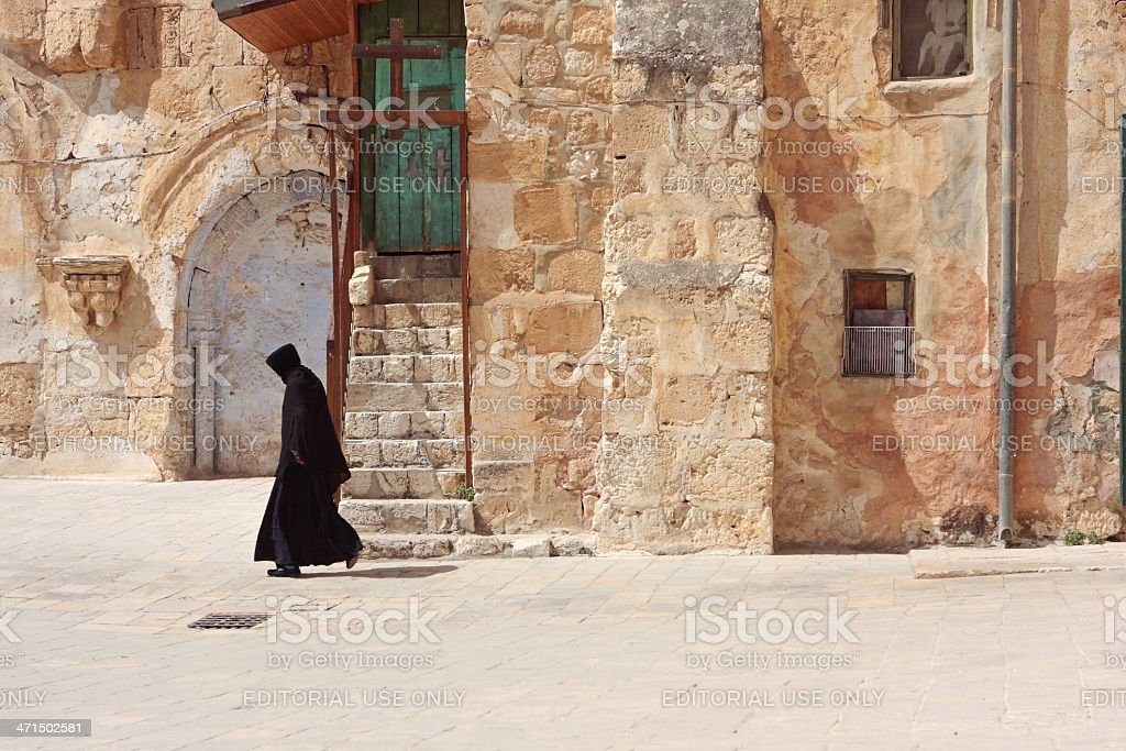 Brotherhood of the Holy Sepulchre royalty-free stock photo