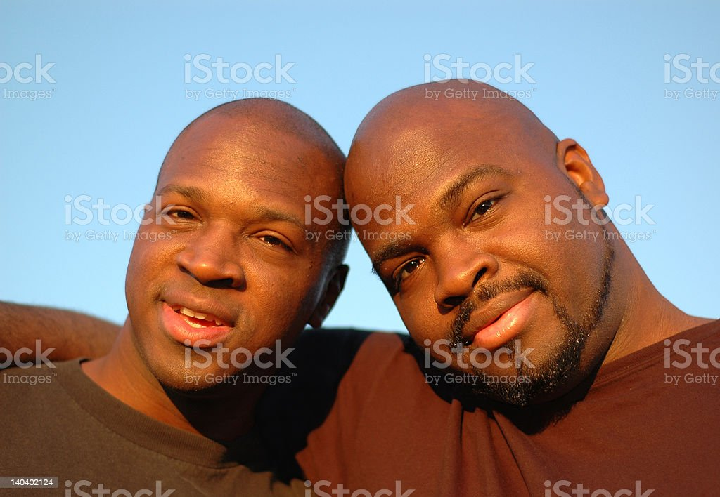 Brotherly love stock photo