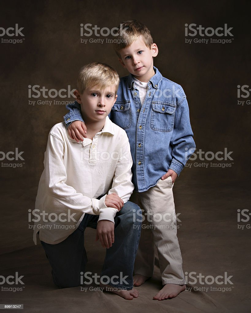 Brotherly Love foto de stock libre de derechos