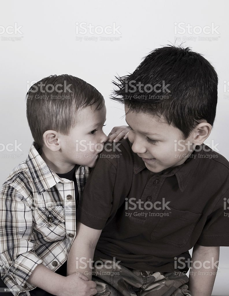 Brotherly Love royalty-free stock photo