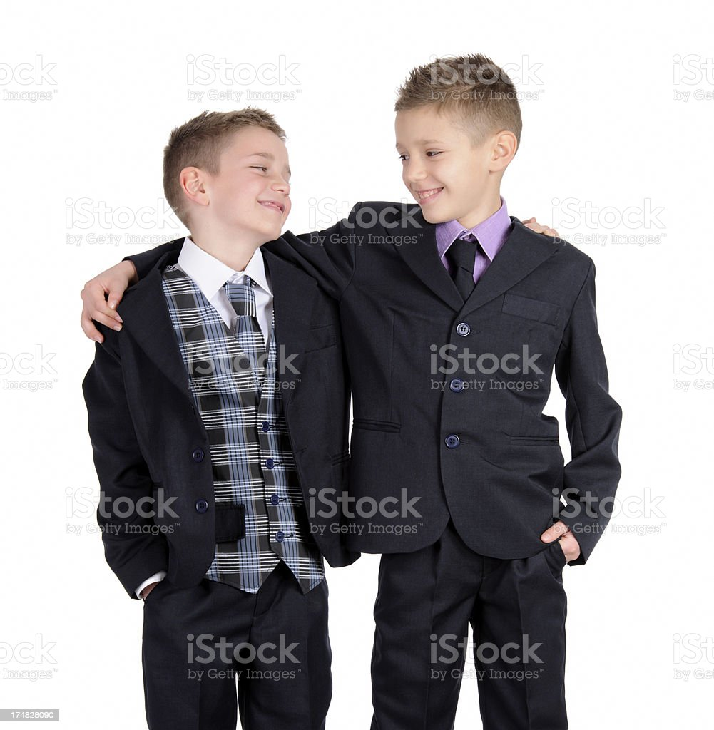 brothers and mates royalty-free stock photo