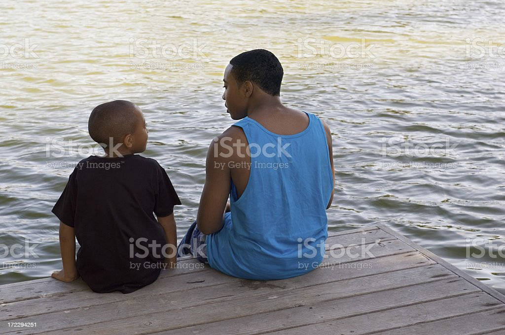 Brother's Bond royalty-free stock photo