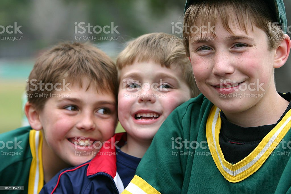 brothers cunningham royalty-free stock photo