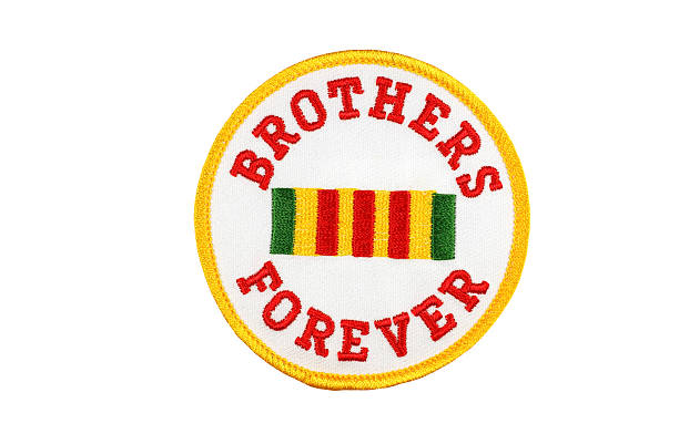 Brothers Forever Vietnam Veterans Patch stock photo