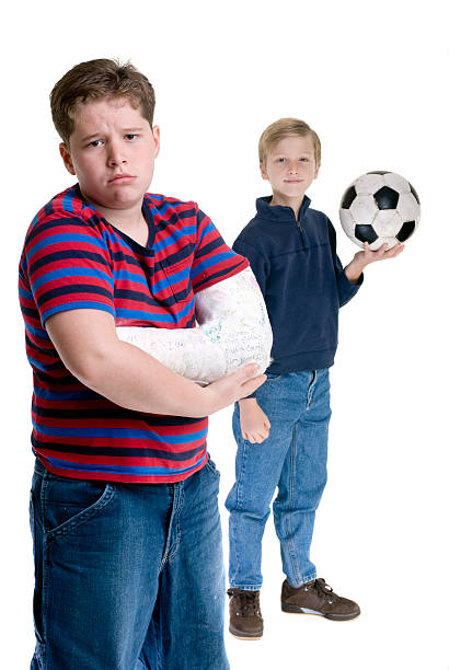 Brothers Sports Injury stock photo