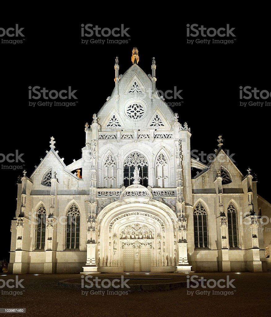 Brou Église de nuit - Photo
