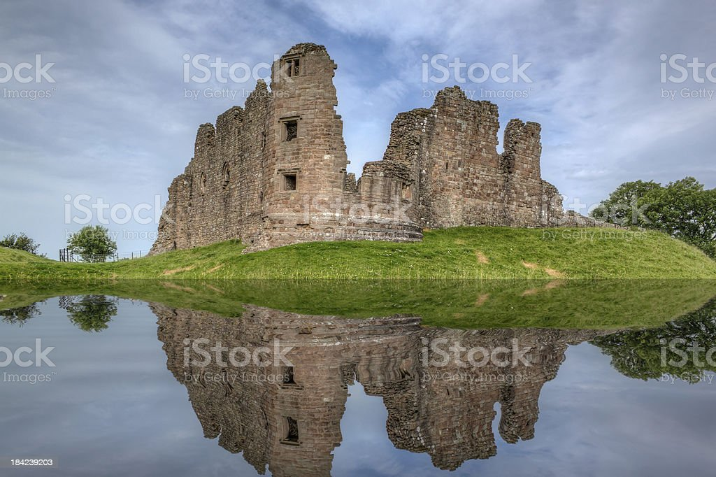 Brough Castle royalty-free stock photo