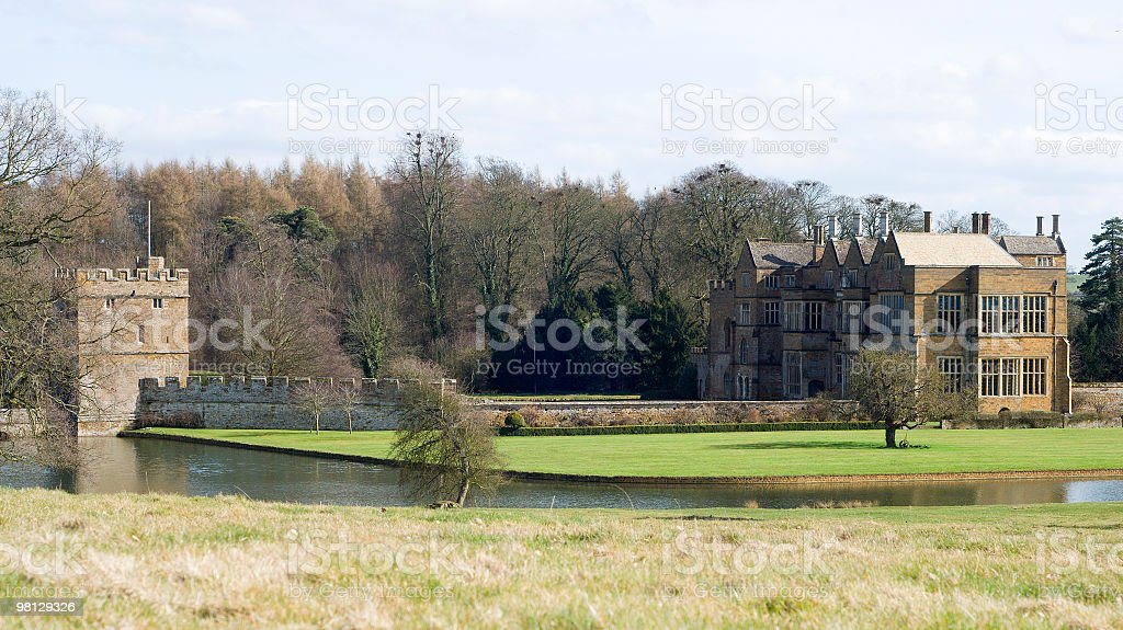 broughton castle royalty-free stock photo