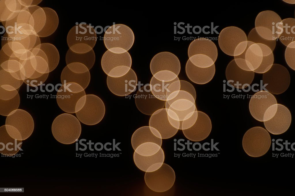Brown abstract light bokeh background stock photo