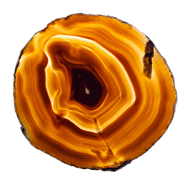Brown Agate stock photo