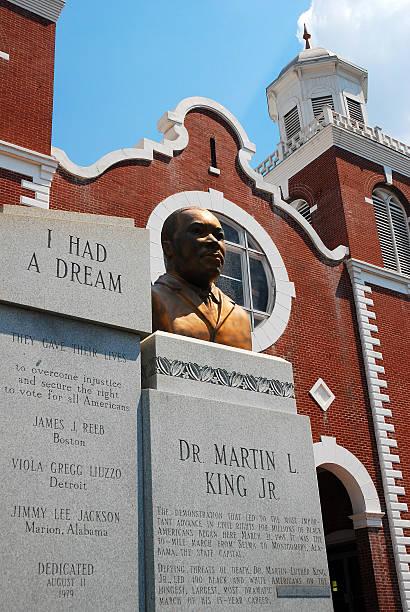 brown ame church, selma alabama - martin luther king jr day fotografías e imágenes de stock