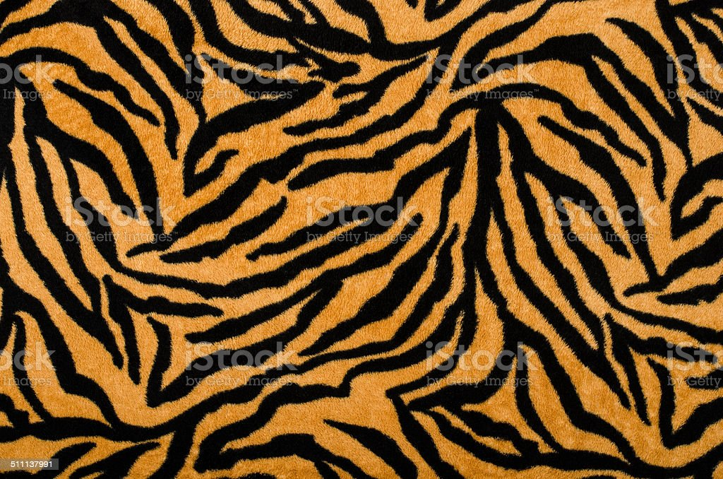 Brown and black tiger pattern. stock photo