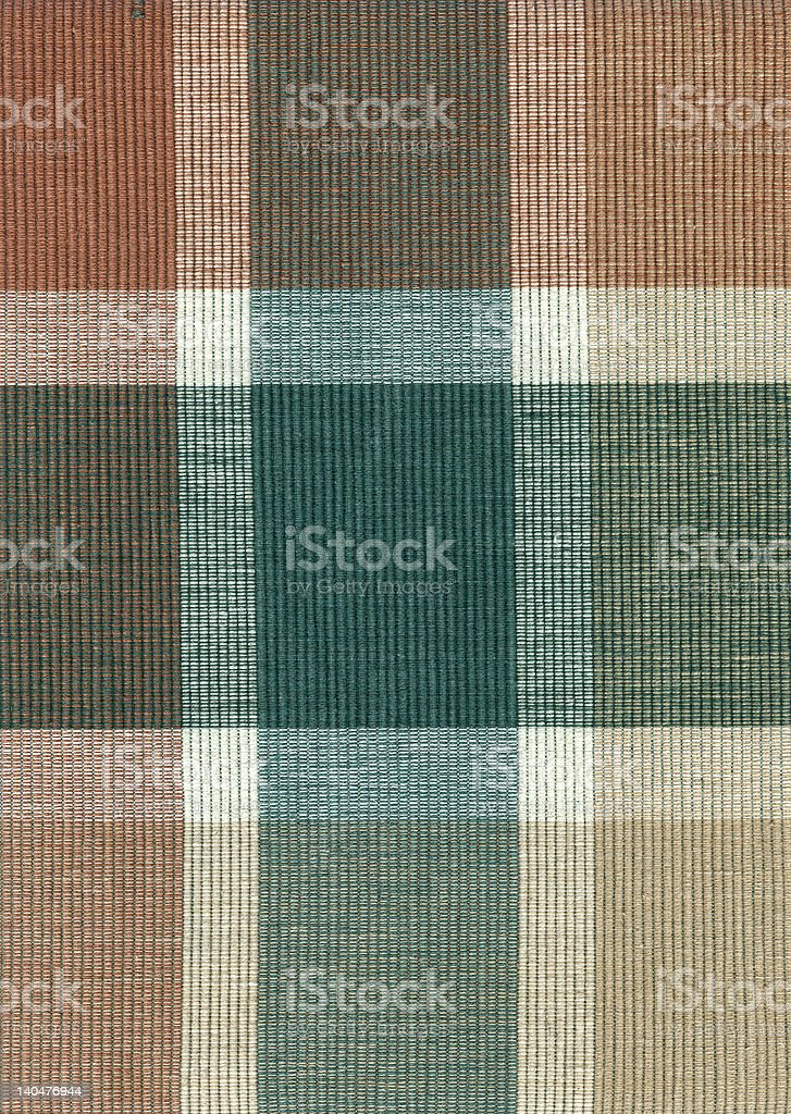Brown and Green Plaid stock photo