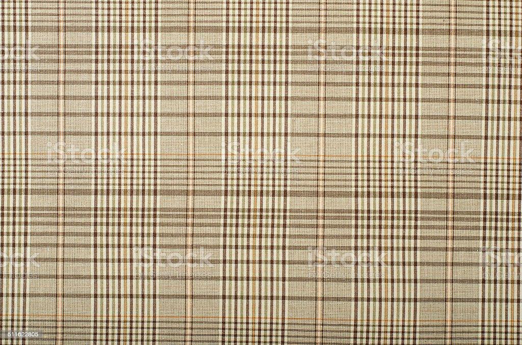 Brown and orange guncheck pattern. stock photo