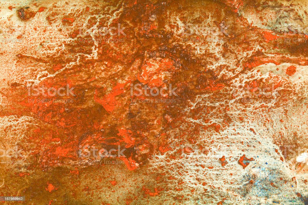 Brown and red grunge abstract background royalty-free stock photo