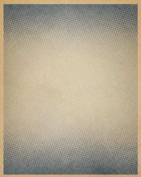 Papier antique avec demi-teinte brune - Photo