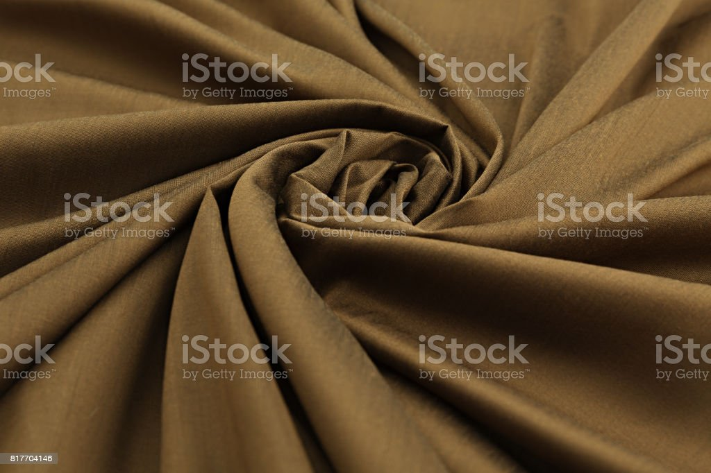 brown background luxury cloth or wavy folds of grunge silk texture satin velvet stock photo