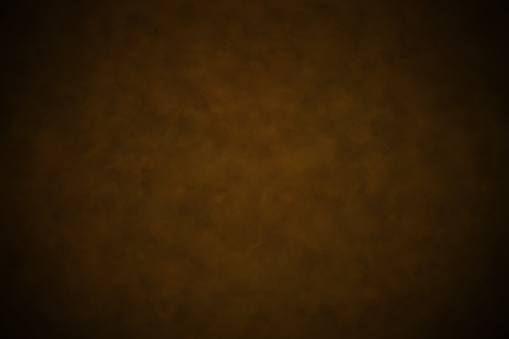 Brown background texture in dark coffee color design, old vintage brown paper or grunge wall banner with black border