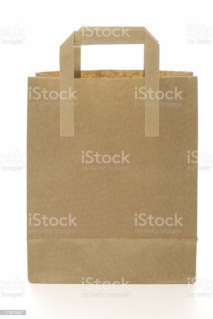 brown bag stock photo