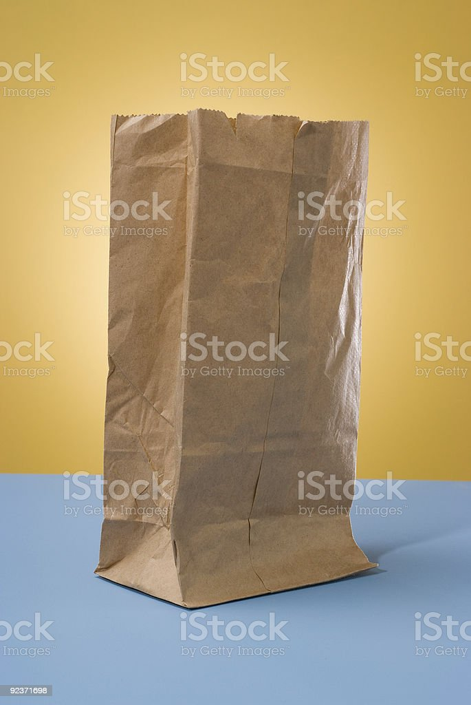 Brown Bag royalty-free stock photo