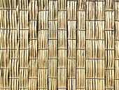 brown weathered bamboo mat weaving texture background