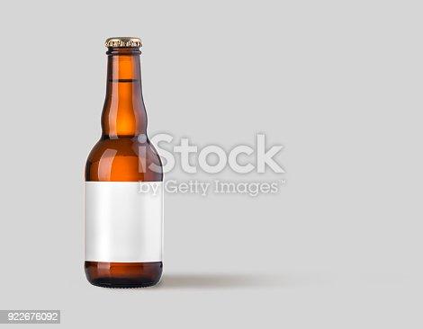 1073474208 istock photo brown beer bottle isolated 922676092