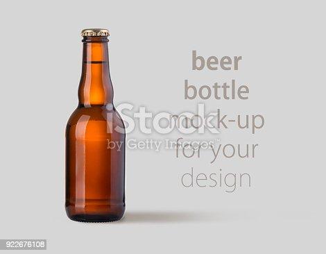 1073474208istockphoto brown beer bottle isolated 922676108